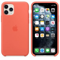 Силиконовый чехол для iPhone 11 Pro Silicone Case Clementine (Orange) MWYQ2