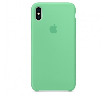 Силиконовый чехол для iPhone XS Max Silicone Case Spearmint Copy