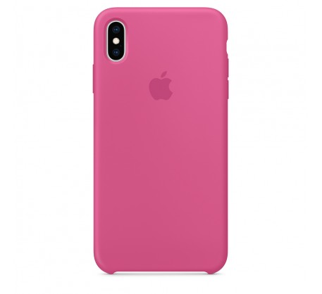 Силиконовый чехол для iPhone XS Max Silicone Case Dragon Fruit Copy